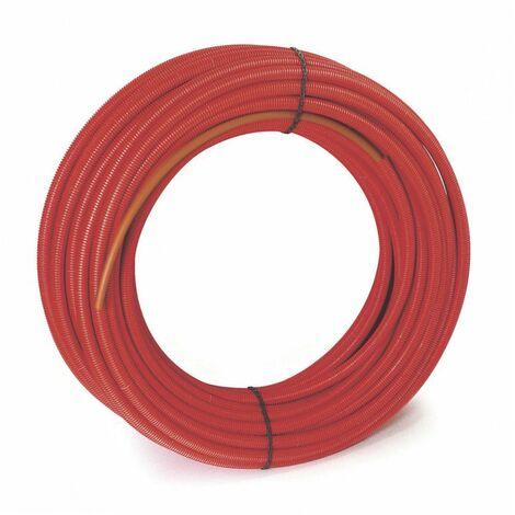 Tube per gaine rouge 20x25 50m