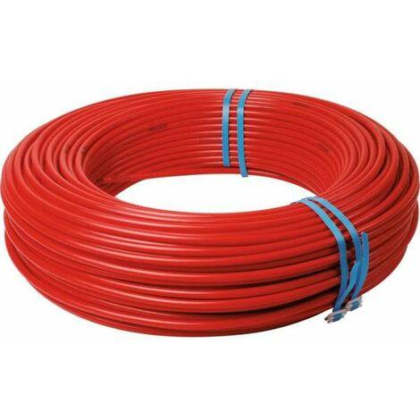 Tube PER nu rouge - Ø 20 x 16 mm - 120 m