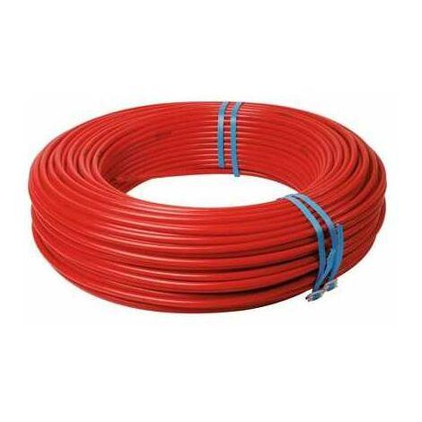 Tube per nu - Rouge - Diamètre 16 mm - Longueur 120 m