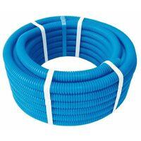 Tube PER prégainé bleu O13x16 - 25ml