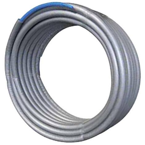 Tube PER prégainé isolé bleu Ø16x20 - 50ml