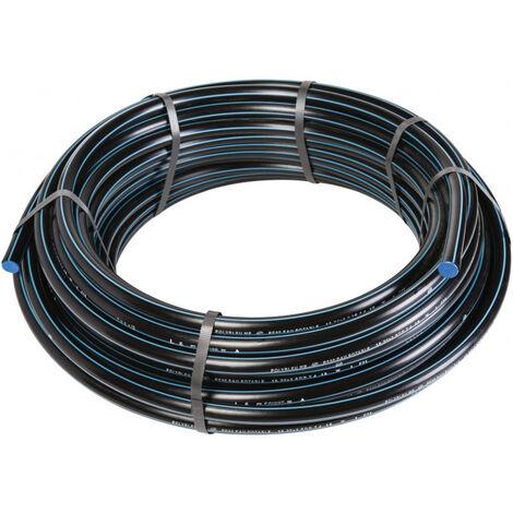 Tube polyéthylène PEHD bande bleue D32-16B-100 ml