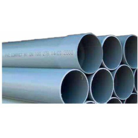 Tube PVC compact 4m : 125 NF