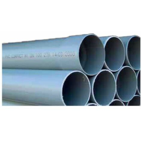 Tube PVC compact 4m : 160 NF