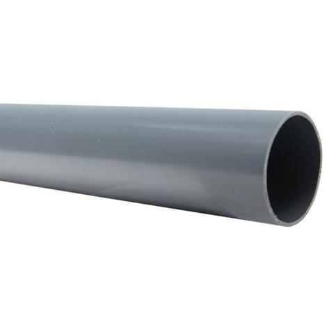 Tube PVC évacuation NF-Me lisse - diamètre 40 mm - 4 mètres