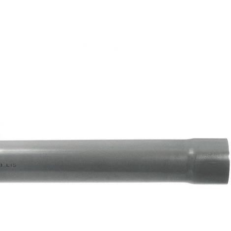 Tube PVC évacuation NF-Me prémanchonné - diamètre 100 mm - 4 mètres