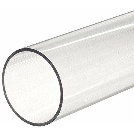 Tube PVC rigide D63 transparent 16 bar - 2,5 ml de Générique - Tube PVC pression - Catégorie Tube PVC pression