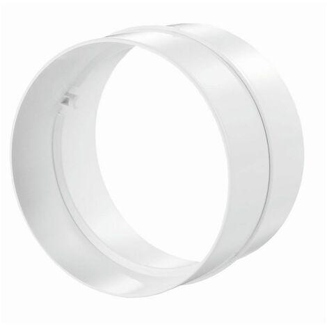 Tube rond conduit de ventilation connecteur intérieur diamètre 100 mm