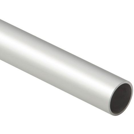 TUBE ROND EN ALU ANODISE ARGENT DIAMETRE VARIABLE - LONG.3M - DUVAL BILCOCQ