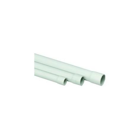 """main image of """"Tube rond PVC, 2 m EN 20 mm, gris"""""""