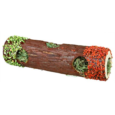 Tube tunnel avec foin et pétales de calendula, - 60771