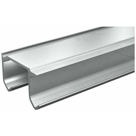 Tubel rail double aluminium charge 38 kg lg 2 m