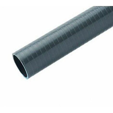 Tubería PVC flexible gris.Precio por metro