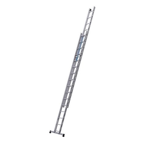 Tubesca - Echelle coulisse à corde 2x16 échelons Hauteur accès 8,5 m max. - PROLINE