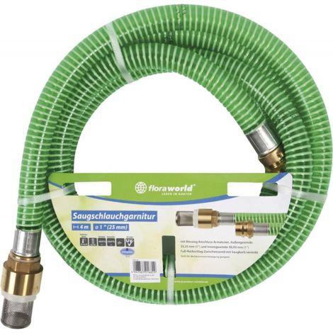 Tubo 4m - 1' con filtro latón