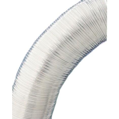 Tubo Aluminio Compact 5mt - ESPIROFLEX - 02170080 - 80 MM