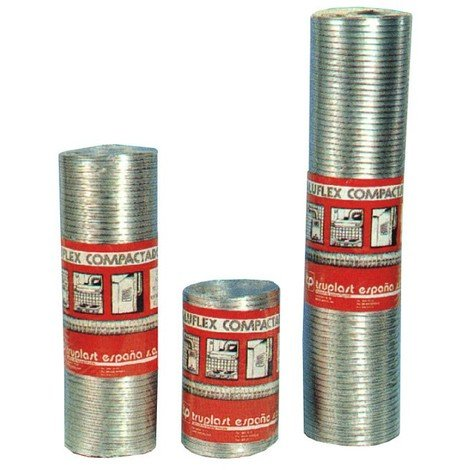 Tubo Aluminio Retractilado 1mt - ESPIROFLEX - 02181120048 - 120 MM