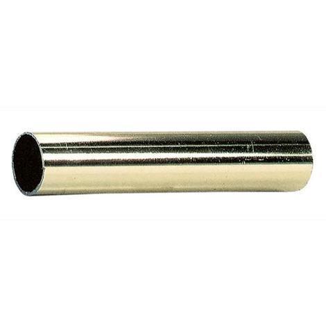 Tubo Asta per Armadio Tondo Ø 18 mm colore Bianco Lunghezza 3 metri