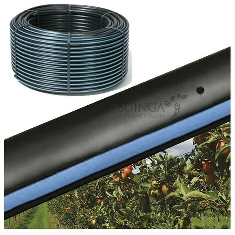 Tubo autocompensante 16mm a 40cm separación por gotero, bobina 400 metros