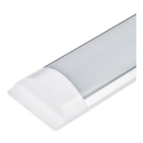 Tubo barra led lineal fluorescente 40w. alta luminosidad (1200mm)