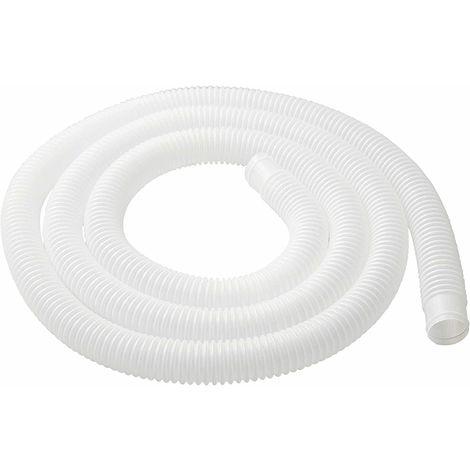 Tubo bianco filtro piscina 3mt d32 per pompa ricambio accessori bestway 58369