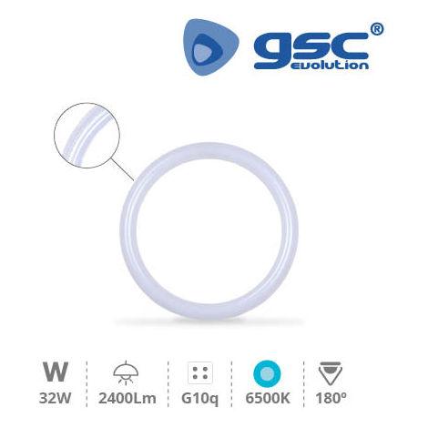 Tubo circular LED 32W G10q 6500K