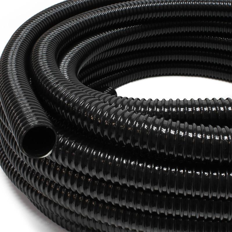 """1 1//2/"""" Made i TT5.79€//m Tubo di aspirazione con spirale rinforzata 5m Ø 38mm"""