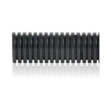 Tubo corrugado de PVC diámetro 20 mm rollo 100 metros Aiscan C20