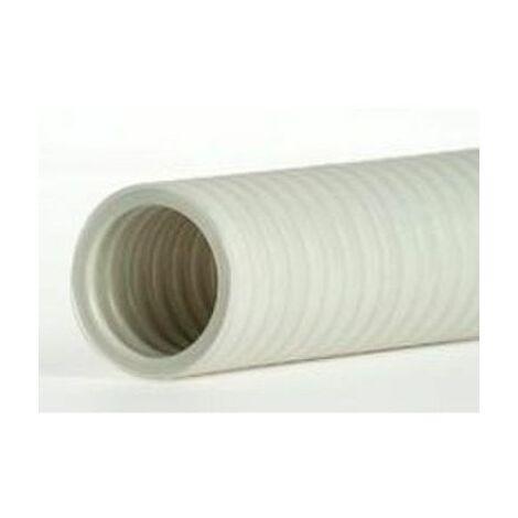 Tubo corrugado forrado libre de halógenos diámetro 20 mm rollo 100 metros Aiscan FHF20