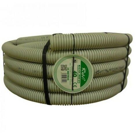 Tubo Corrugado Libre de Halógenos 40mm, bobina 25 metros