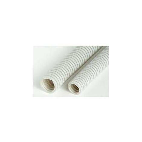 Tubo corrugado Libre halogenos 25mm rollo 75Mtrs