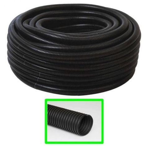"""main image of """"TUBO CORRUGATO FLESSIBILE 32 mm FLEX PVC NERO MT.25 CAVI IMPIANTI ELETTRICI"""""""