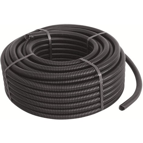 "main image of ""Tubo corrugato flessibile nero diametro mm 20 metri 100"""