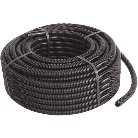 "main image of ""Tubo corrugato flessibile nero diametro mm 25 metri 75"""