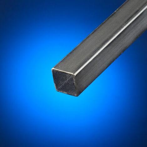 Tubo cuadrado acero negro 25x25 mm