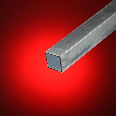 Tubo cuadrado aluminio 30x30 mm