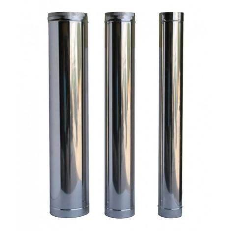 Tubo de acero Inox para chimenea