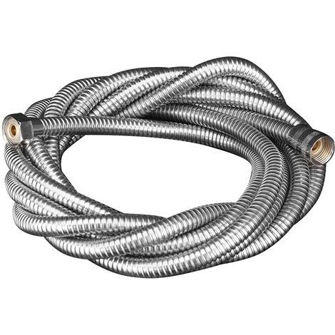 Tubo de acero inoxidable Manguera de ducha flexible extra larga, G1/2,3m