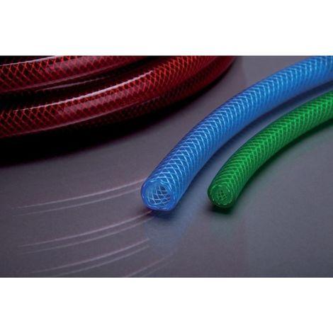Tubo de aire PVC APDatec 81B azul transparente 9x3,0mm 50m