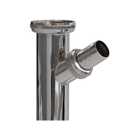 Tubo de ajuste para sifón de lavabo Aguas residuales con conector 1 1/4 x 32 x 200 mm