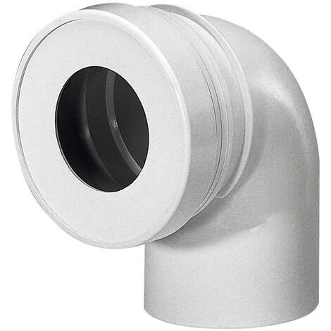 tubo de desagüe corto wc HØ120 mm MØ100 mm