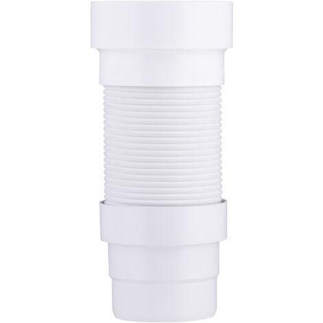 tubo de desagüe extensible wc HØ120 mm MØ85 a 107 mm