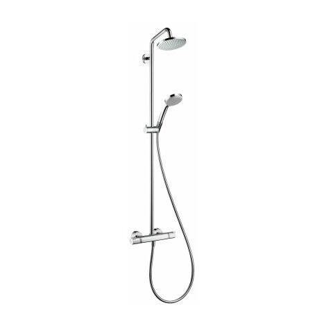 Tubo de ducha Croma 160 1jet con termostato, cromado - 27135000