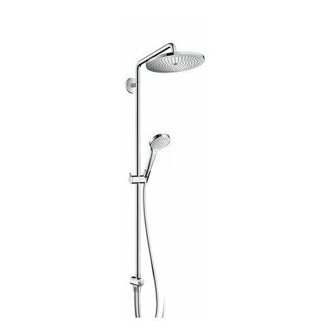 Tubo de ducha Hansgrohe Croma Select S 280 1jet Reno, cromado - 26793000