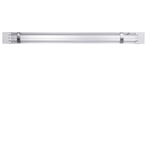 Tubo de luz de aluminio 2pcs 90cm 72led para oficina en casa 220V