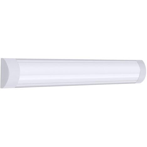 Tubo de luz de aluminio de 60 cm 48led para oficina en casa 220V