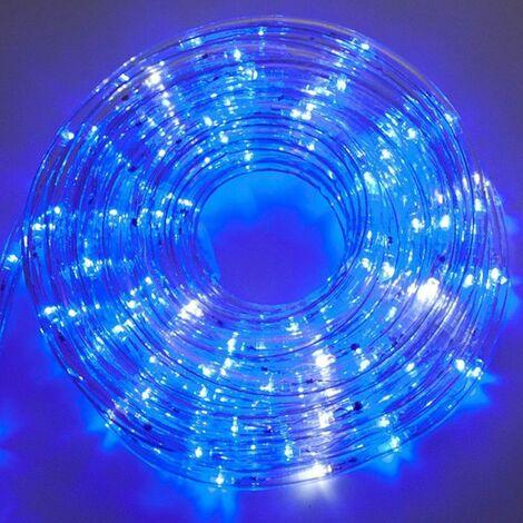 Tubo de luz LED Wimex vertical 10 metros Azul 4502004X