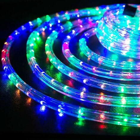 Tubo de Wimex horizontal LED Ø 13 mm, 10 metros Multicolor 4502506X