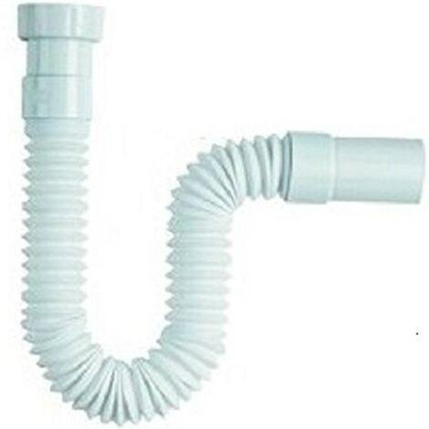 Tubo Scarico Lavandino Flessibile.Tubo Di Scarico 1 1 2 Acqua Lungo Per Sifone Flessibile Lavabo