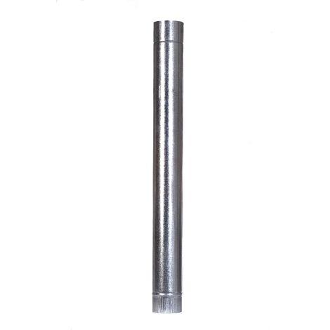 Tubo Estufa 120mm Liso Ac Galv Theca